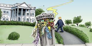 A.F. Branco Cartoon - One Liberal's Treasure...