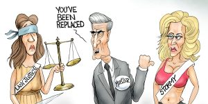 A.F. Branco Cartoon - Mueller Gone Wild