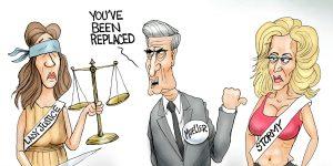 A.F. Branco Cartoon - Mueller Gone Wild