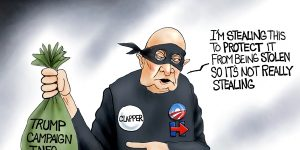A.F. Branco Cartoon - It Takes A Thief