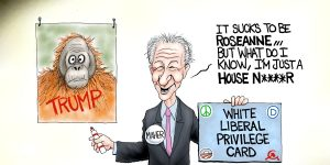 A.F. Branco Cartoon - Sur-Real Time With Bill Maher