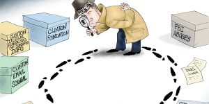 A.F. Branco Cartoon - Inspector Clueless