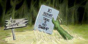 A.F. Branco Cartoon - A Slimy Slippery Slope