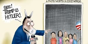 A.F. Branco Cartoon - Picture Perfect