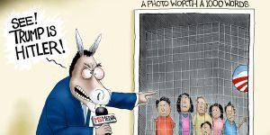 A.F. Branco Cartoon - Picture Perfect