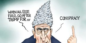 A.F. Branco Cartoon - Foiled Again