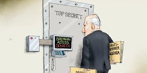 A.F. Branco Cartoon - The Jig's Up