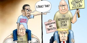 A.F. Branco Cartoon - NObama-nomics