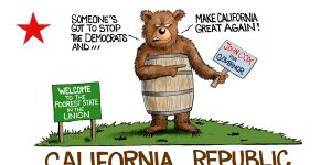 A.F. Branco Cartoon - California Dreamin'