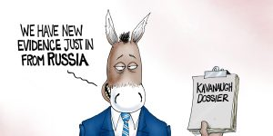 A.F. Branco Cartoon - Russian To Judgment
