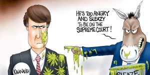 A.F. Branco Cartoon - Slimed
