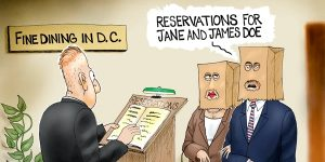A.F. Branco Cartoon - Reservations