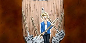 A.F. Branco Cartoon - Shovels Ready