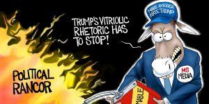 A.F. Branco Cartoon - Fired Up