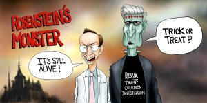 A. F. Branco Cartoon - Rosensteins Monster
