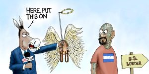 A.F. Branco Cartoon - Angels in Disguise