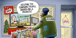 A.F. Branco Cartoon - Charity Starts At Home