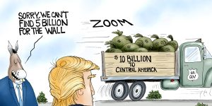 A.F. Branco Cartoon - Border Money