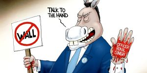 A.F. Branco Cartoon - Collateral Damage