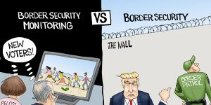 A.F. Branco Cartoon - Monitoring vs Securing