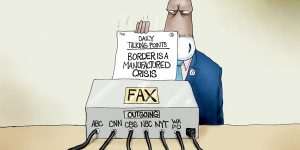A.F. Branco Cartoon - Fax Checkers