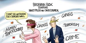 A.F. Branco Cartoon - Blind Ambition
