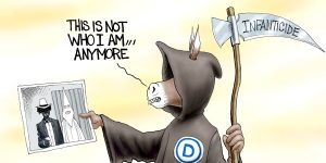 A.F. Branco Cartoon - The Grim Weeper