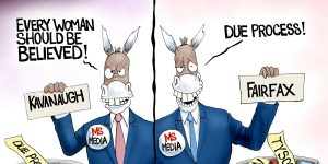 A.F. Branco Cartoon - Democrat Privilege