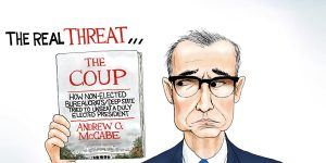 A.F. Branco Cartoon - The Real Threat