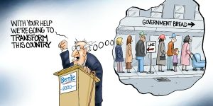 A.F. Branco Cartoon - Feel the Bern, Again
