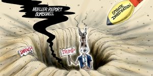 A.F. Branco Cartoon - Double Trouble