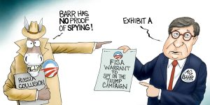 A.F. Branco Cartoon - The Spy Who Hated Me