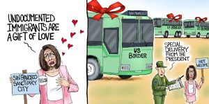 A.F. Branco Cartoon - From the Heart