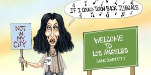 A.F. Branco Cartoon - Cher the Love