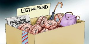 A.F. Branco Cartoon - Lost It