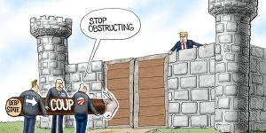 A.F. Branco Cartoon - Open Says-Me