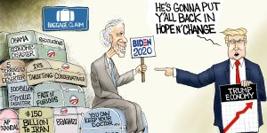A.F. Branco Cartoon - Jobama