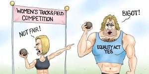 A.F>Branco Cartoon - Equality Act