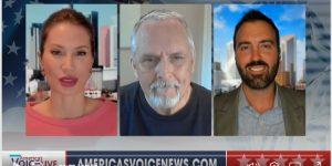 A.F. Branco On America's Voice News