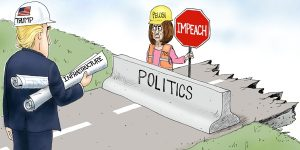 A.F. Branco Cartoon - Obstruction