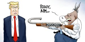 A.F. Branco Cartoon - Sharpshooter
