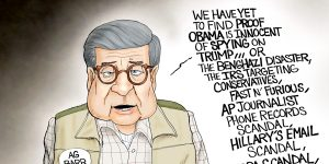 A.F. Branco Cartoon - Scandal Free?