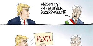 A.F. Branco Cartoon - Tariff Man
