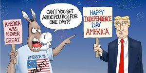 A.F. Branco Cartoon - Fireworks