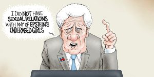 A.F. Branco Cartoon - Sick Willie