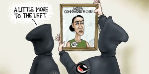 A.F. Branco Cartoon - Lost Leader