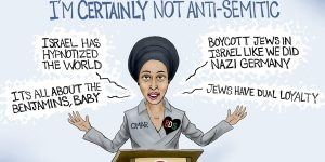 A.F. Branco Cartoon - Not Anti-Semitic?