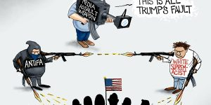 A.F. Branco Cartoon - Weapons of Assault