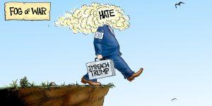 A.F. Branco Cartoon - Forward March