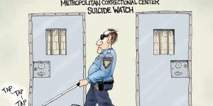 A.F. Branco Cartoon - Blind Trust